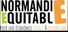 """Un de partenaires qui nous accompagnent dans notre démarche équitable et solidaire : Normandie Equitable, """"Pour une économie locale & responsable"""""""