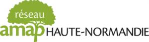 Logo de notre partenaire AMAP Haute-Normandie