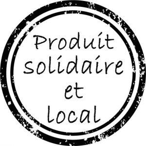 Notre produit est solidaire et local